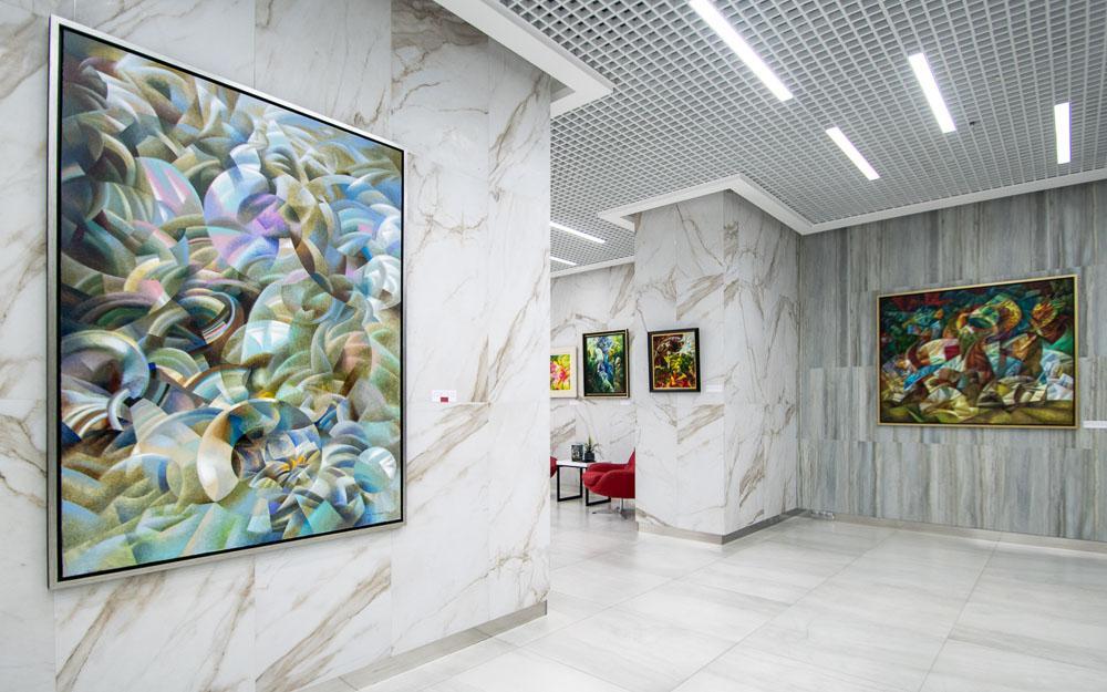 Фотосъемка художественной выставки картин художник Иван Турецкий
