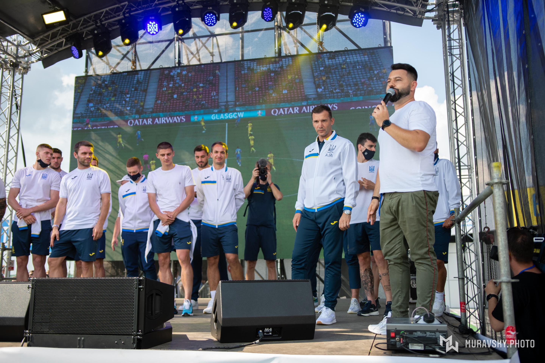 Сборная Украины ЕВРО-2020 Андрей Шевченко